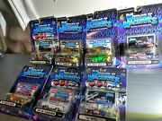 Vintage Lot Of Muscle Machines 164 Die Cast Collectible Vehicle - Lot Of 7 New
