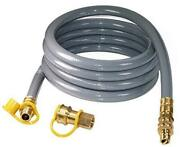 15 Foot 3/4inch Id Natural Gas Hose With Quick Connect/disconnect Fittings