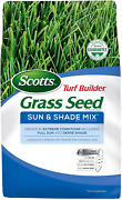 Turf Builder Grass Seed Sun And Shade Mix Seeds Up To 8,000 Sq. Ft., 20 Lb