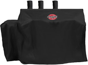 Char-griller 8080 Dual Fuel Grill Cover, Black