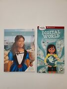 American Girl Lot Of 2 Books A Smart Girland039s Guide Digital World And Meet Cecile