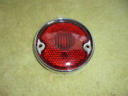 Vintage Chevy Suburban Tail Light Lens And Bezel Original Guide Sta. Wagon 40 50and039s