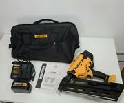 Bostitch 20v Cordless Framing Nailer Bcf28ww Instructions Battery Charger And Bag