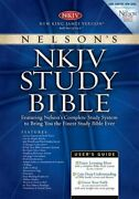 Holy Bible New King James Version Study Bible By Nelson Bibles - Hardcover