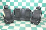 15and039 Charger R/t Black Heat Cool Dual Power Front Bucket Leather And Suede Seats