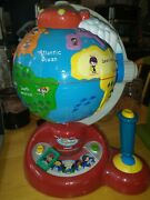 Little Einsteins Learn And Discover Vtech Globe Educational Learning Sounds Talk