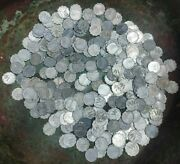 250 Coins Huge Lot. 1 Agora Israel Km 24.1 Vf Collectible 0.092 Each