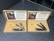 New Vintage Case Xx Tennessee Homecoming 86' Trapper Collector Knife Lot 2