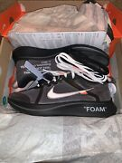 Nike X Off-white Andldquothe Tenandrdquo Zoom Fly 100 Authentic Virgil Abloh Yeezy Size 9