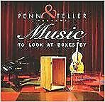 Penn And Teller - Penn And Teller Present Music To Look At Boxes By - Cd - New
