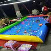 Inflatable Pool For Children Large Outdoor Water Park Pool Fencing 380.3m