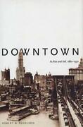 Downtown Its Rise And Fall, 1880-1950 By Robert M. Fogelson - Hardcover Mint