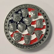 Police Memorial Challenge Coin Union County Nj
