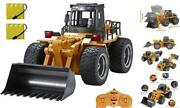 Rc Truck 6 Channel Full Functional Front Loader 4wd Remote Control Rc