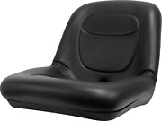 Low Back Lawn Mower Seat Black Fits Agco Ariens Dixon Gravely And Hustler