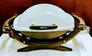 Weber Q1000 Portable Bbq Table Top Lp Camping Grill Tailgating Propane Gas Gril