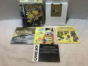 Pokemon Gold Version Game Boy Color, 2000 Complete. Works Great. See Pics