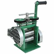Hand Operate Rolling Mill Machines Heavy Duty With Maximum Opening Jewelry Tools