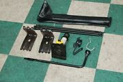 07-14 Gm Suv Spare Tire Bottle Jack Tools Toolkit Lug Wrench Set Rods Pouch