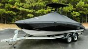 2019-21 190/95 Yamaha Fsh Deluxe Black Non T-top Mooring Cover