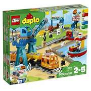 Lego 10875 Duplo Cargo Train Exclusive Battery-operated Building Blocks Set