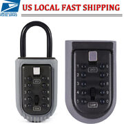 Outdoor Combination Hide Key Safe Lock Box Storage Wall Mounted Home Security