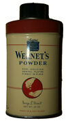 1950andrsquos Wernetandrsquos Powder Holds Dental Plates In Place Some Inside