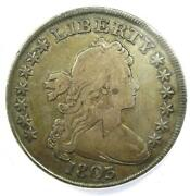 1803 Draped Bust Silver Dollar 1 Coin - Anacs Vg10 Details - Rare Date