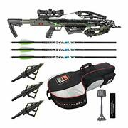 Killer Instinct Boss 405 Fps Crossbow Package With Backpack Case And Broadheads