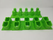 10 Pack Tool And Battery Holder Made For Ryobi One 3d Printed Green