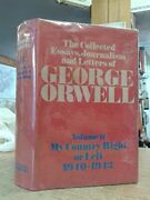 Collected Essays, Journalism And Letters Of George Orwell - Hardcover