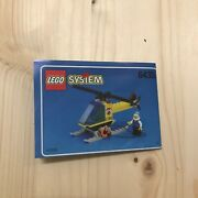 Lego Vintage 6435 Coast Guard Hq Helicopter [instruction Book Only]