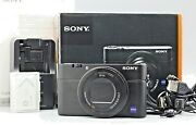 Sony Dsc-rx100 M3 20.1mp 3x Optical Zoom Compact Digital Camera Exc Used 0991152