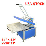 Us-31 X 39in Large Format Heat Press Machine Manual Operation For Textile 220v