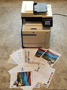 Hp Laserjet Pro 300 Color Mfp M375nw All-in-one Laser Printer Low Page Count