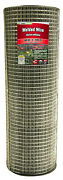 309214a Galvanized Welded Wire Fence, 1 X 1-in. Mesh, 14-ga., 48-in. X 100-ft. -