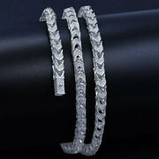 100 Real Sterling Silver Fully Icy Effervescentfranco Box Chain 2024 Inch
