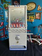 Vintage 1940and039s Lawrence Penny One Cent Gum Chocolate Candy Machine