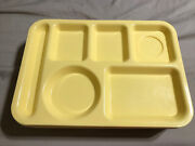 Vintage Silite Divided Lunch Trays School Cafeteria Plastic 614 Lot Of 11