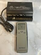 Skytech Fireplace And Fan Remote Control With Programmable Thermostat 3301pf