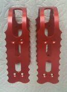 New School Usa Made Red Bob Reedy Pro Pedal Cages And Weyless With New Screws