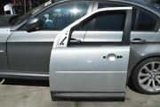2008 Land Rover Lr2 Left Driver Side Front Door Shell Silver