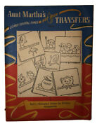 1940's-50's Hot Iron Transfers Aunt Martha's 9611-animated Dishes For Kitchen Ac