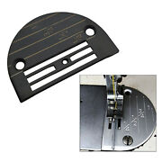 Iron Sewing Machine Needle Plate Black Sewing Machine Parts Fit For Juki
