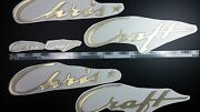Chris Craft Boats Emblems 28 Gold +free Fast Delivery Dhlexpress -sticker Decal