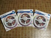 Lights Of America Circle Lite 2630 Compact Fluorescent Electronic Light Lot Of 3