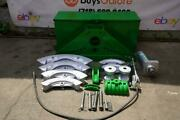Greenlee 885 Hydraulic Bender 1 1/4 To 5 Inch Rigid Pipe Works Great