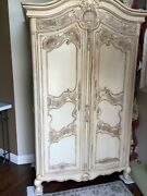 Century Furniture Country French Bedroom Armoire/cupboard