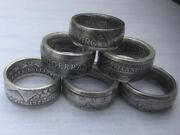 Custom Handcrafted Coin Rings- Pick Your Coin Your Size And Your Finish