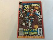 Superman 50 Second Print Newsstand Rare Engagement Issue Dc Comic Book